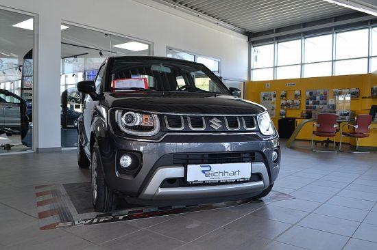 Suzuki Ignis 1,2 DualJet Hybrid clear bei Autohaus Reichhart in