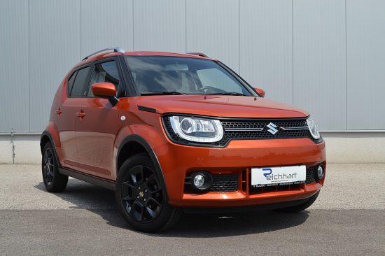 Suzuki Ignis 1,2 DualJet Hybrid shine bei Autohaus Reichhart in
