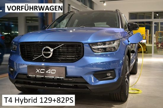 Volvo XC40 T4 Recharge PHEV R Design bei Autohaus Reichhart in