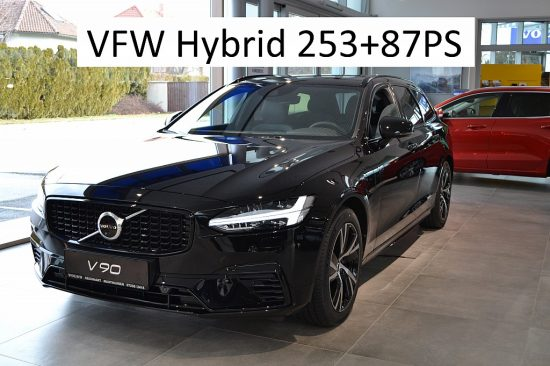 Volvo V90 T6 AWD Recharge PHEV R Design bei Autohaus Reichhart in